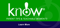 KNOW! Helpful Tips for Parents