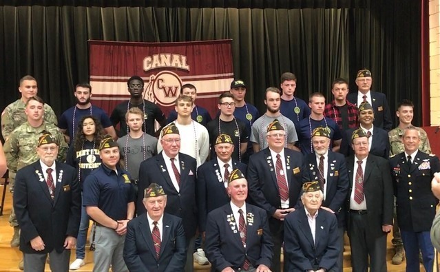 Class of 2019 Military Enlistees with Current and Former Military Personnel
