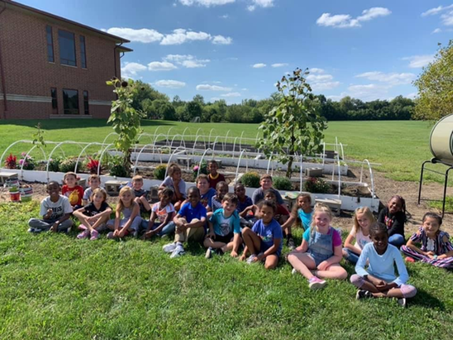Beginning of the 2019-20 School Garden